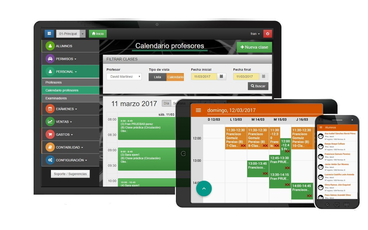 Software de autoescuelas Winautogest 1.0.0.5